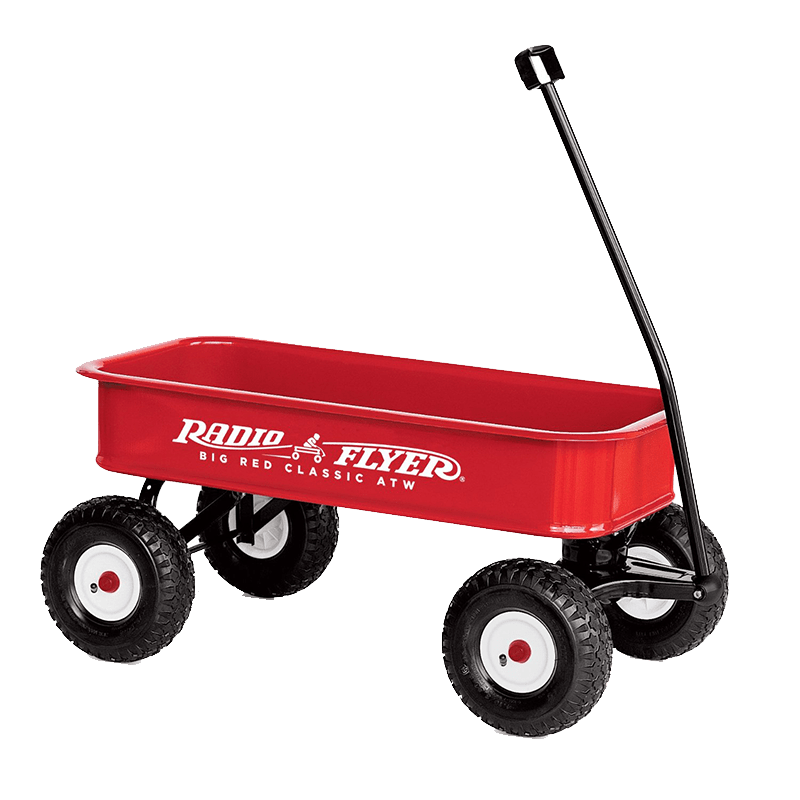 Radio flyer png. Toy wagon transparent stickpng