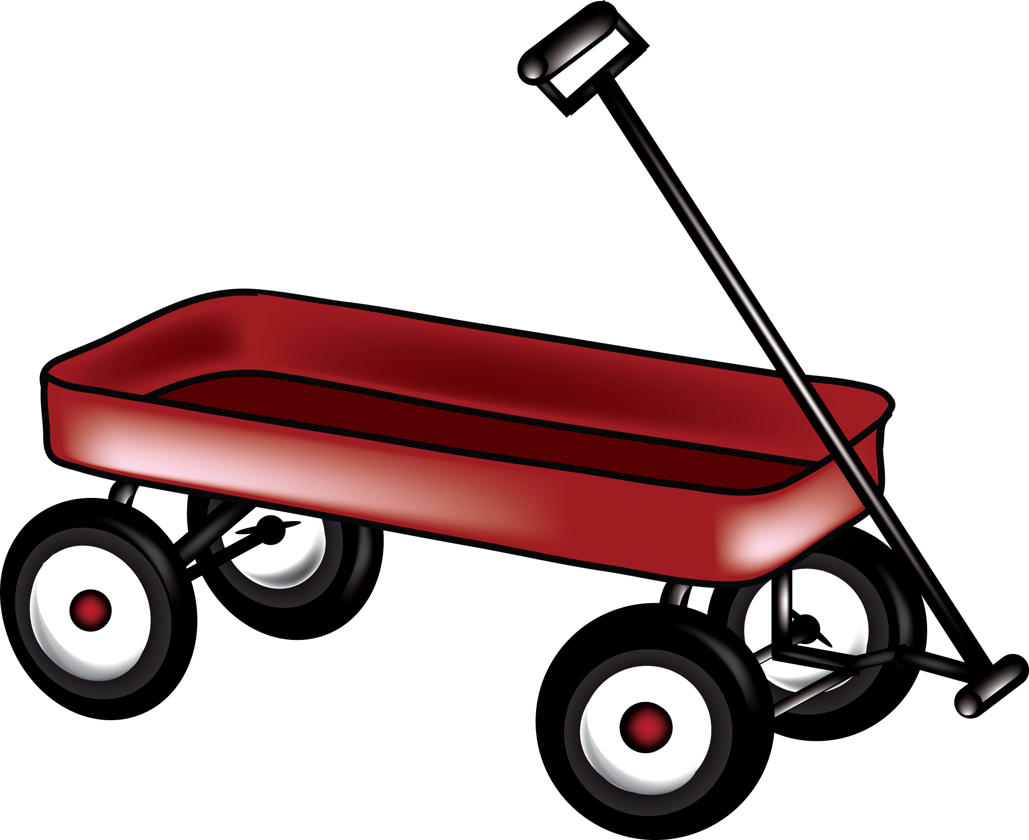 Red wagon png