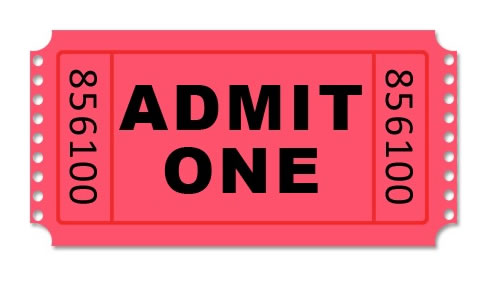 Raffle clipart arcade ticket. Picture of tickets manqal