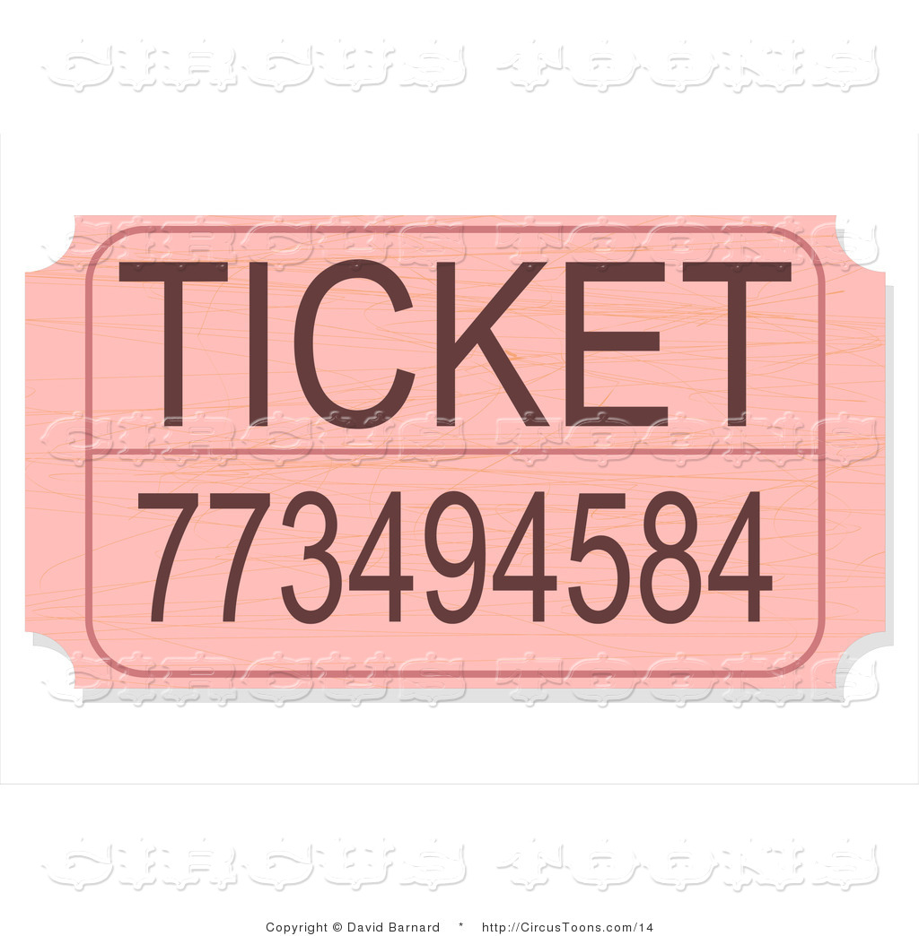 raffle clipart circus ticket