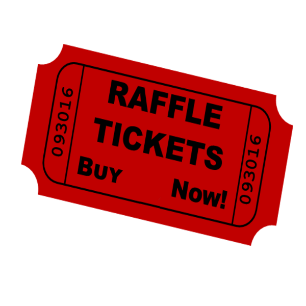 Raffle ticket images png. Auctions givefundraising
