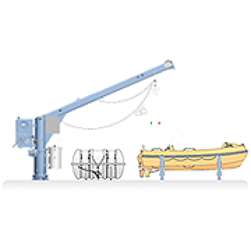Raft drawing boat. Ned deck combi rescue