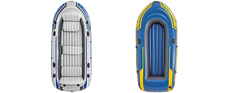 Raft drawing boat. The best inflatable boats