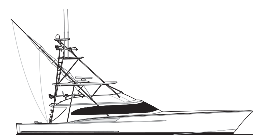 Raft drawing easy. Custom sportfish yachts and