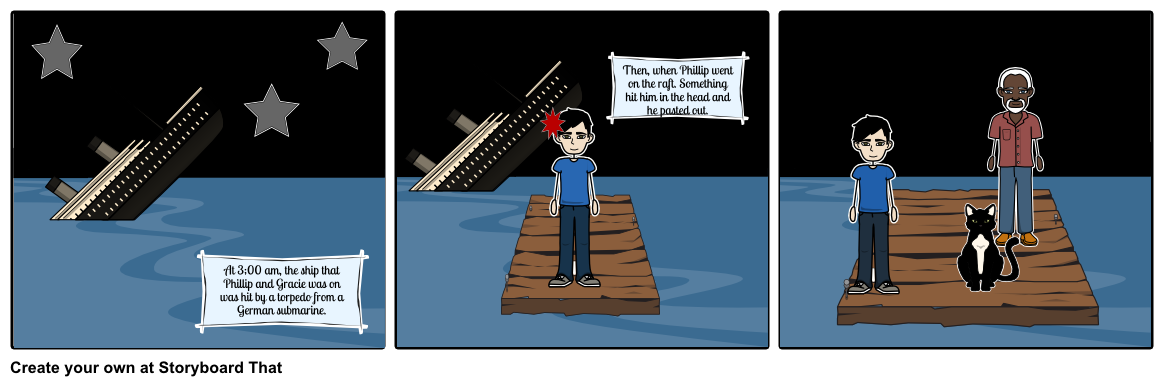 Storyboard by iamhere. Raft drawing the cay clipart library download