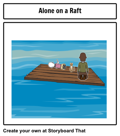 Storyboard by jglinert. Raft drawing the cay clip royalty free library