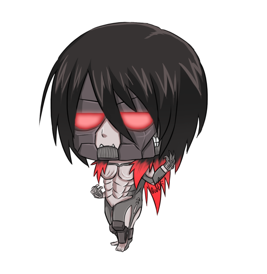 Rage drawing attack on titan eren form. Mikasa solid graphikworks co