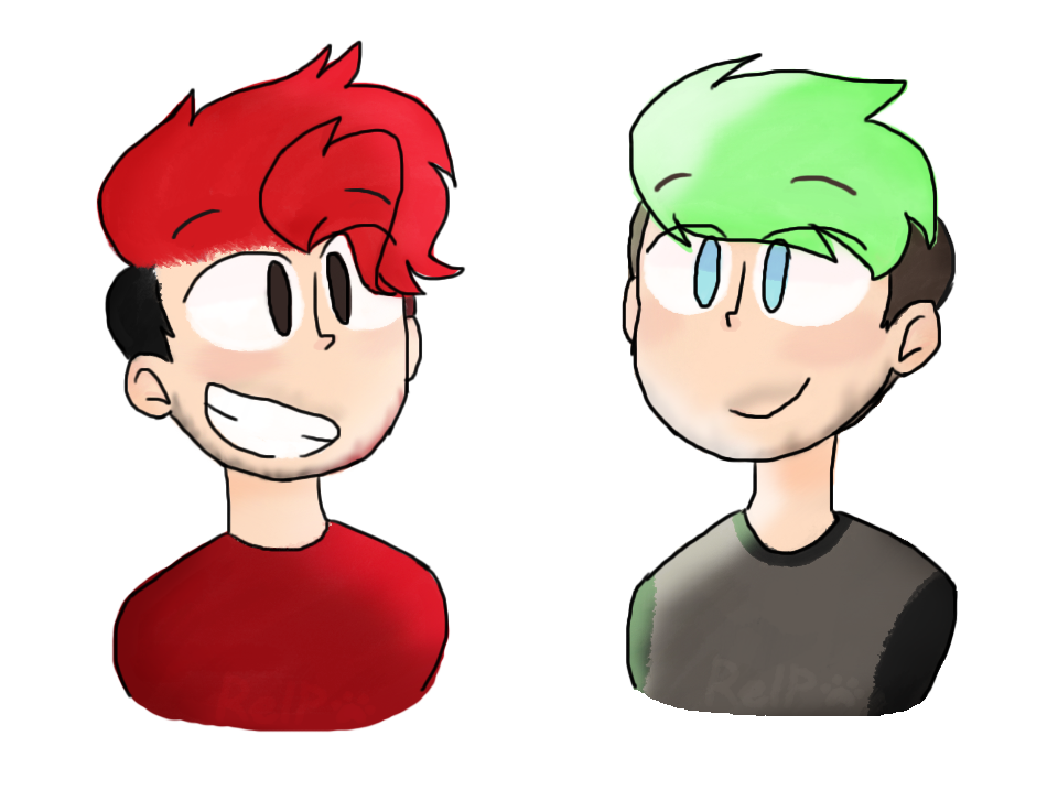 Transparent jacksepticeye red. Mouse draw is hard