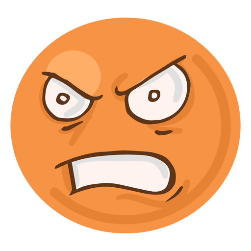 Angry face emoji transparent. Rage png graphic freeuse library