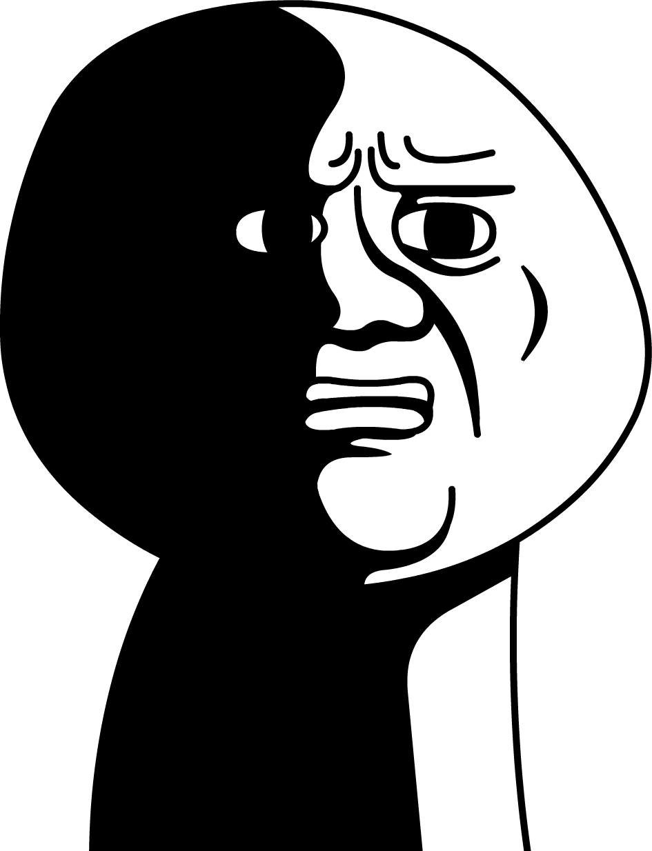 Rage faces png. True but when i