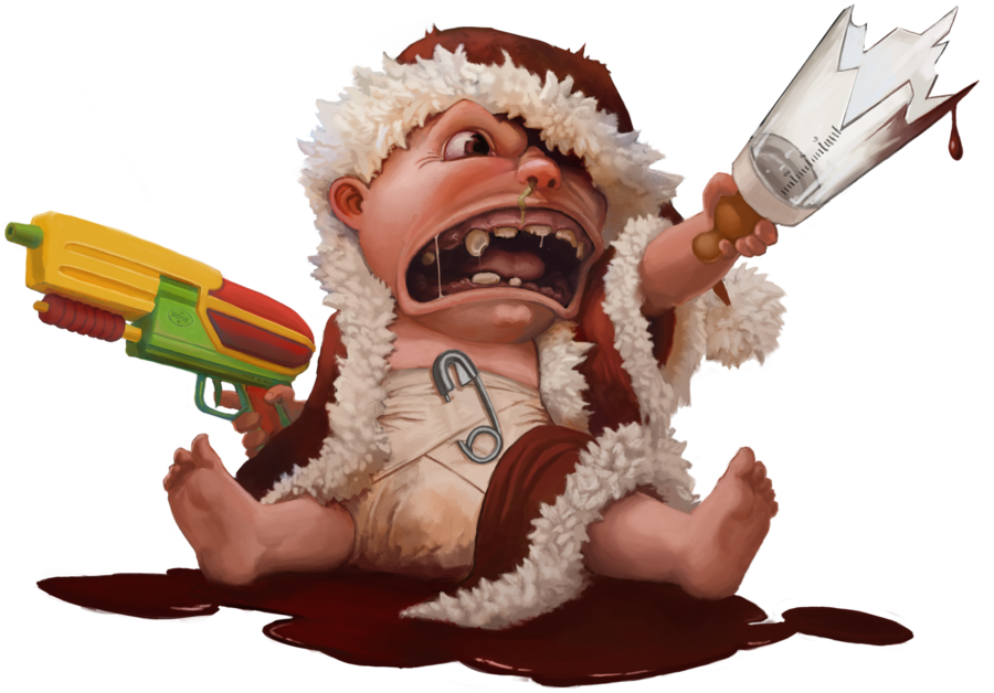 Rage kid png. Commission by sarmati on