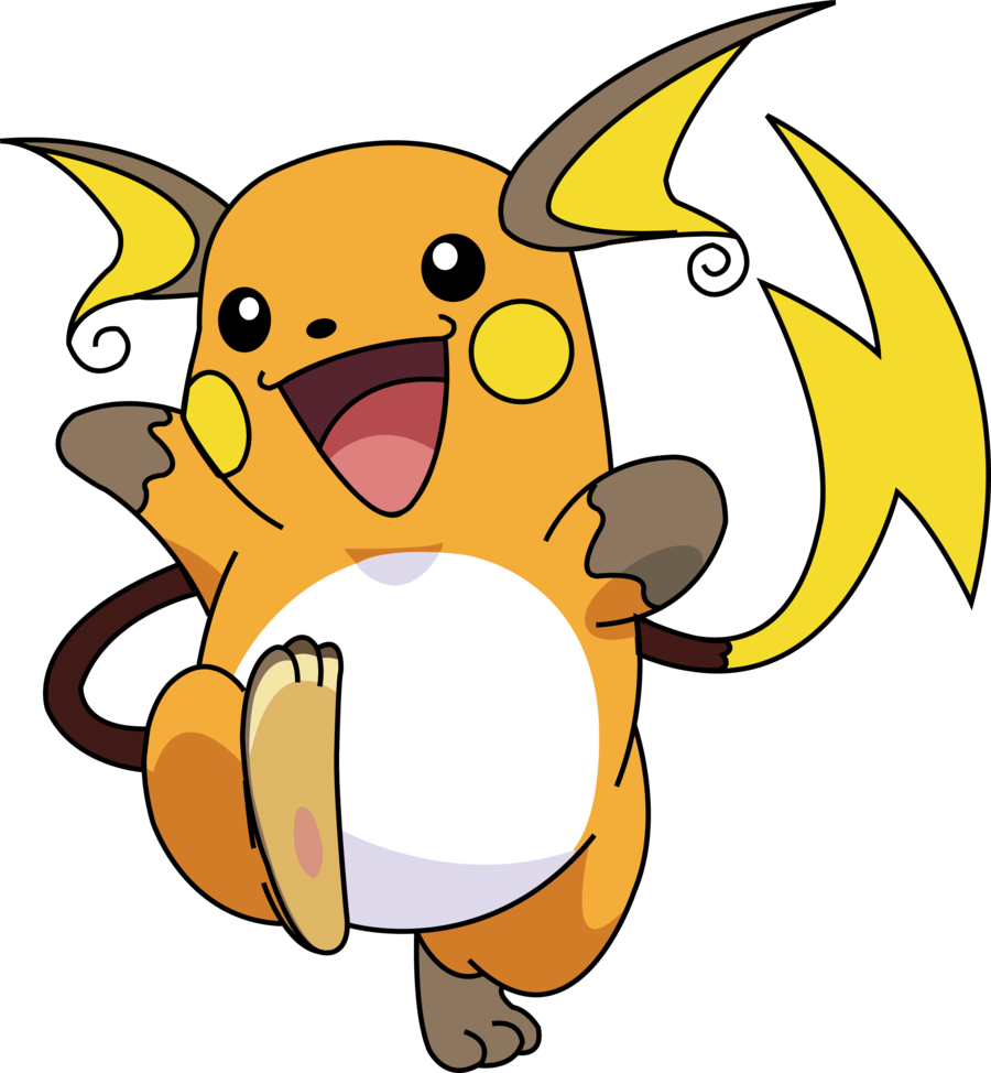 Raichu transparent. Roblox pokemon project wiki