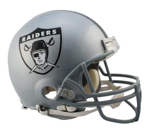 Raiders helmet png. Oakland vsr authentic throwback