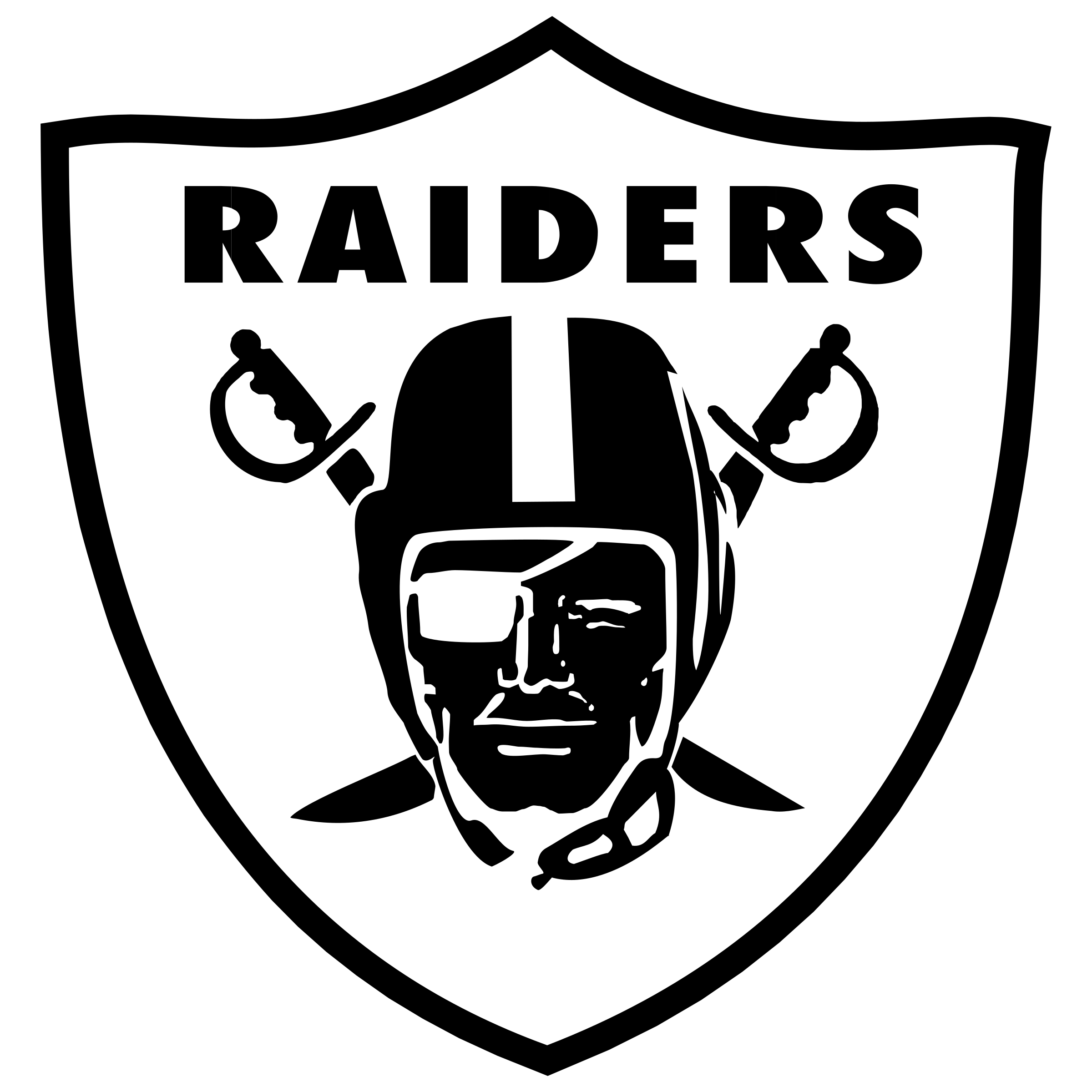 Raiders logo png. Transparent svg vector freebie