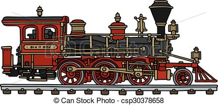 railroad clipart steam train