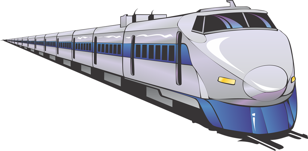 drawing train bullet