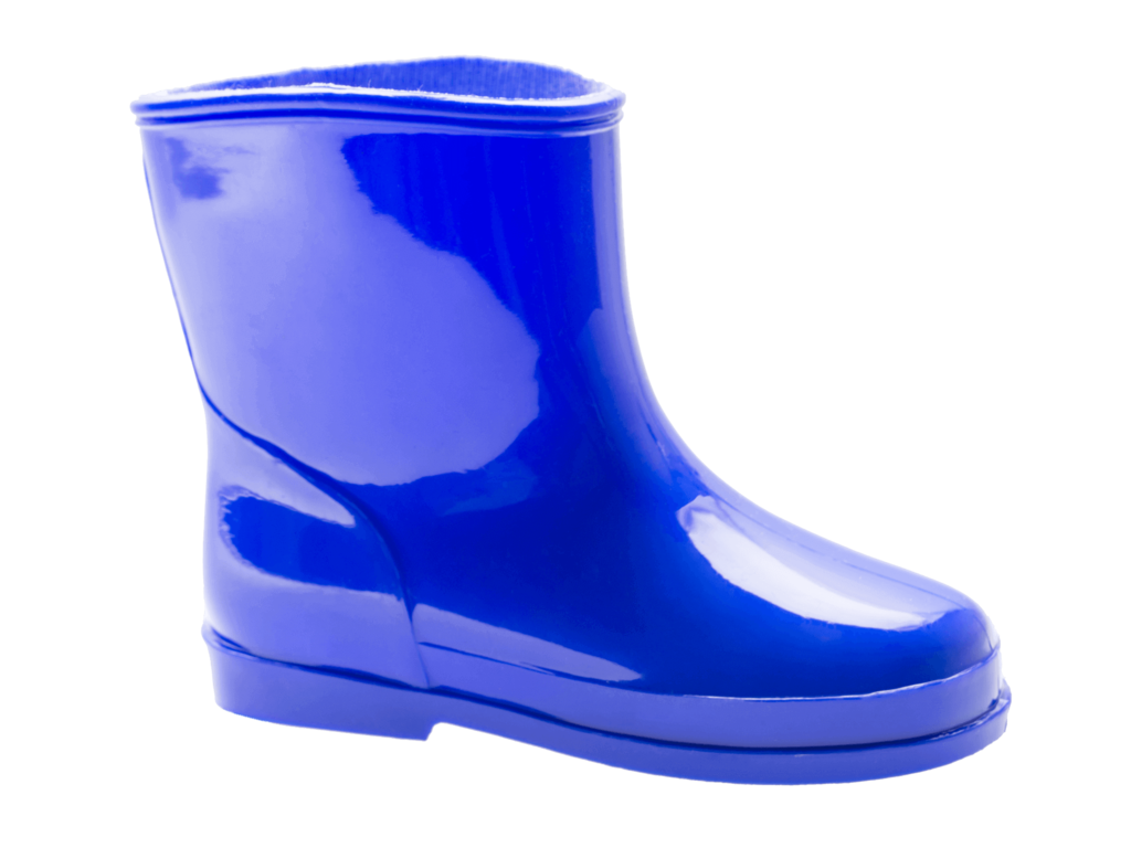 Rain boots png. Kids royal blue locals