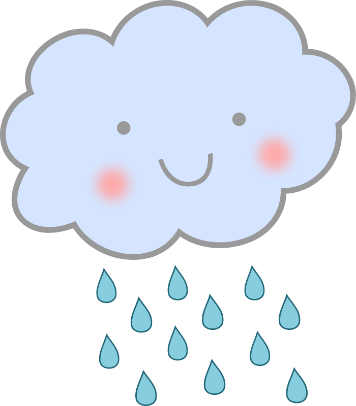 Rain clouds png. Animated stickers