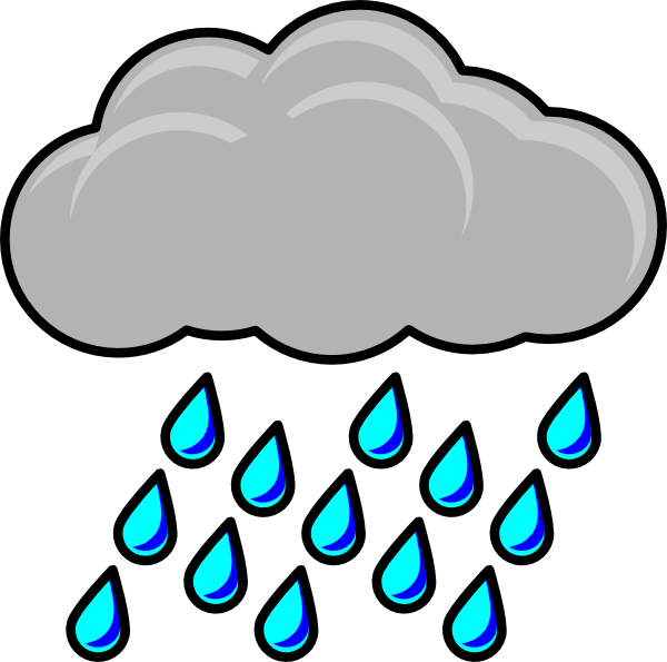 rainy clipart rain animation