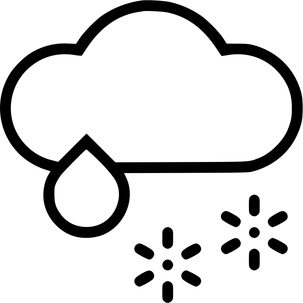 Cloud wintry svg png. Rain clipart snow mix clip art freeuse library