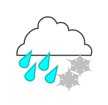 Smart exchange usa mixed. Rain clipart snow mix picture royalty free