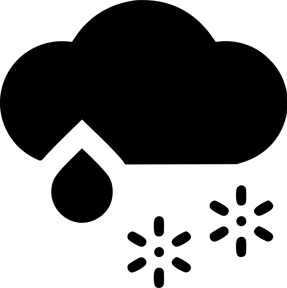 Cloud wintry svg png. Rain clipart snow mix clip art royalty free download
