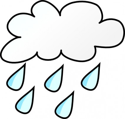 Rain clipart windy. Weather panda free images