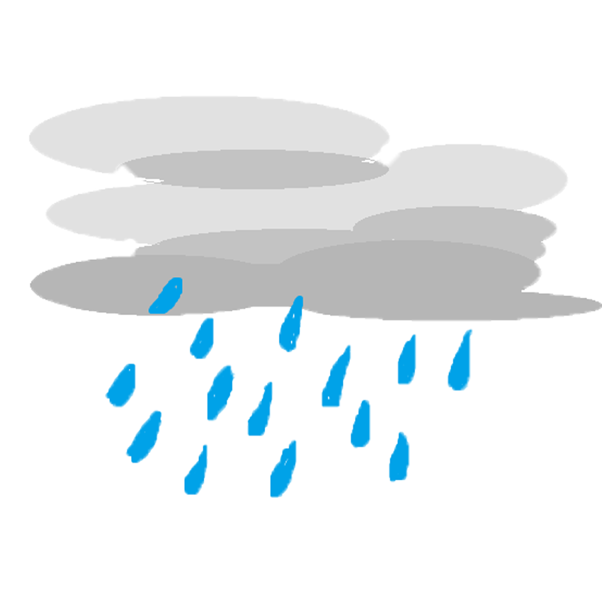 Rain png. File o wikimedia commons