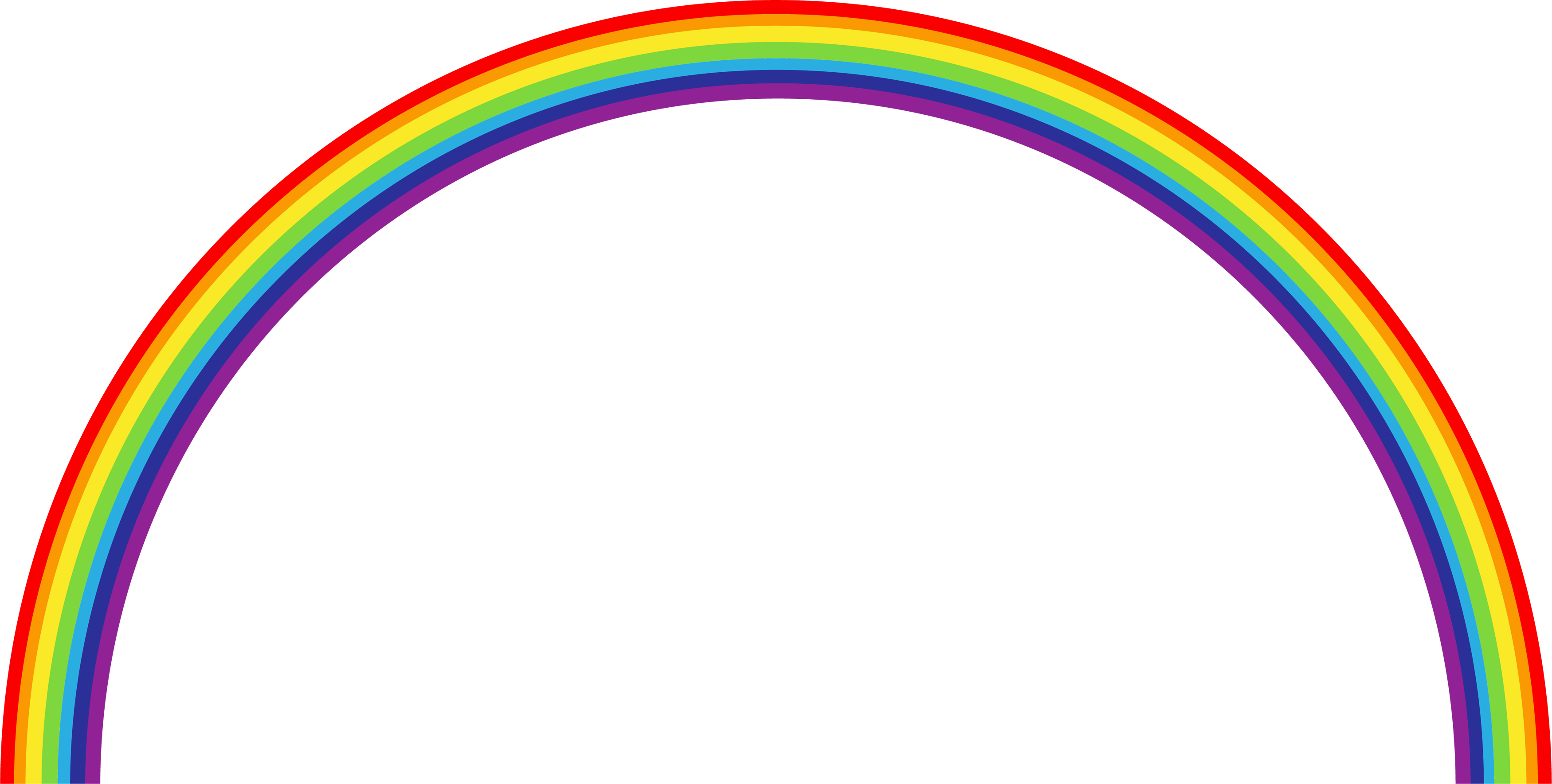 Rainbow background png. Image without web icons