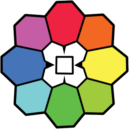 rainbow badge png