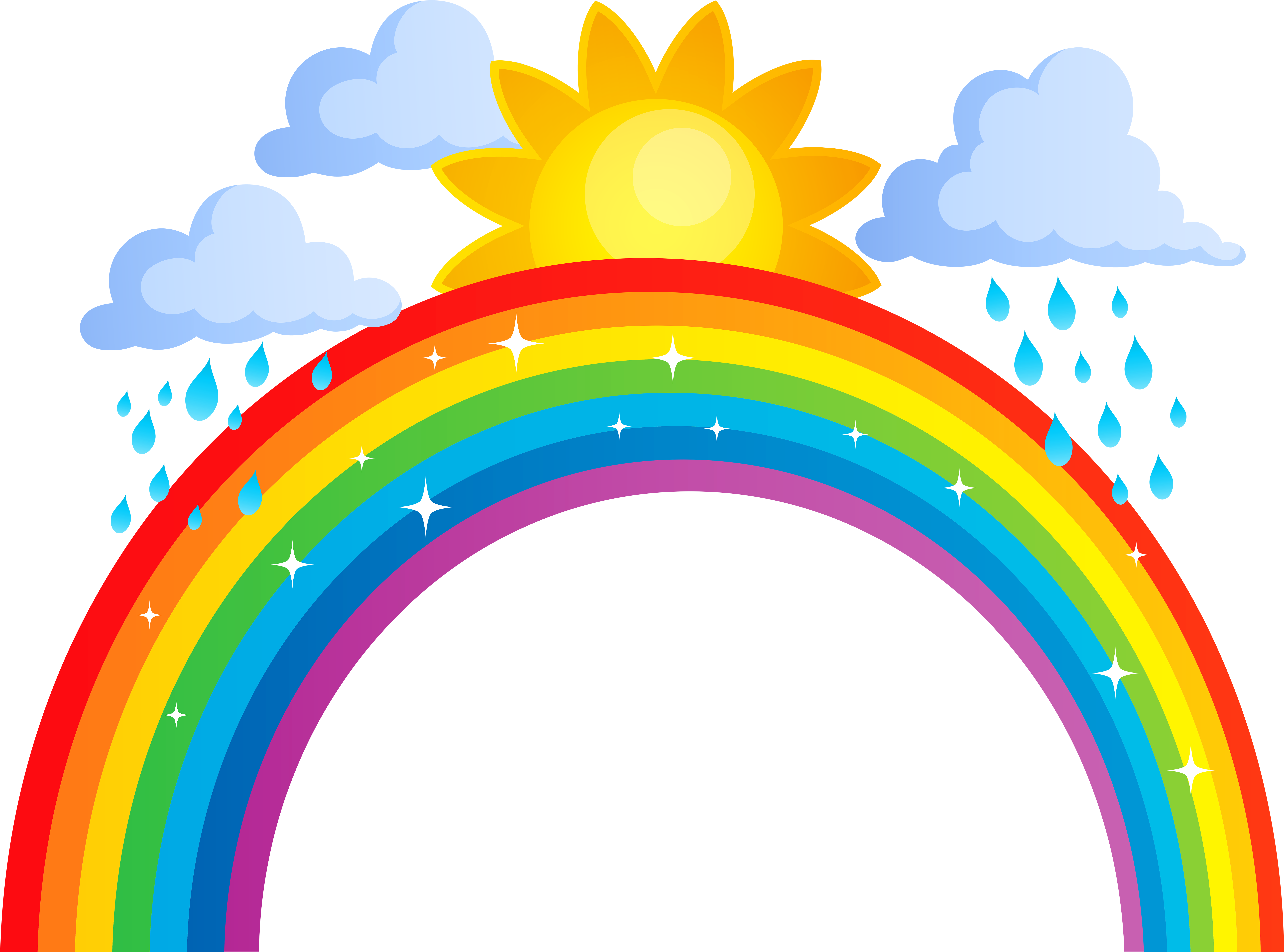 Rainbow banner png. Download royalty free stock