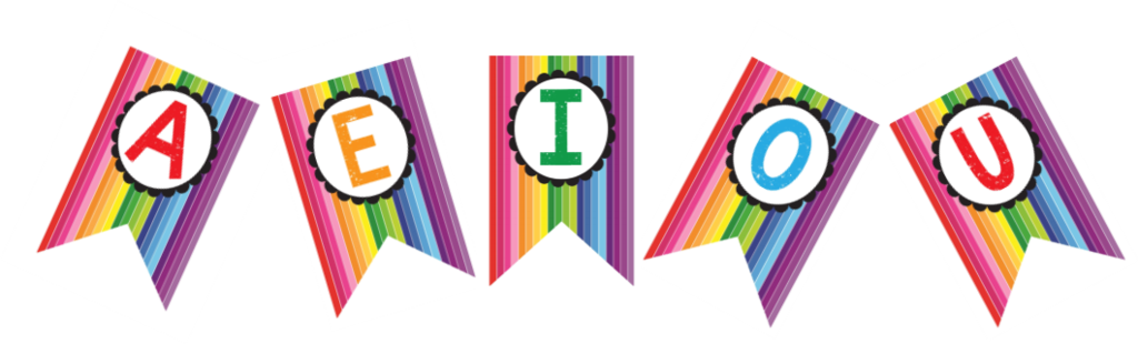 Rainbow banner png. Happy letters schoolgirl style
