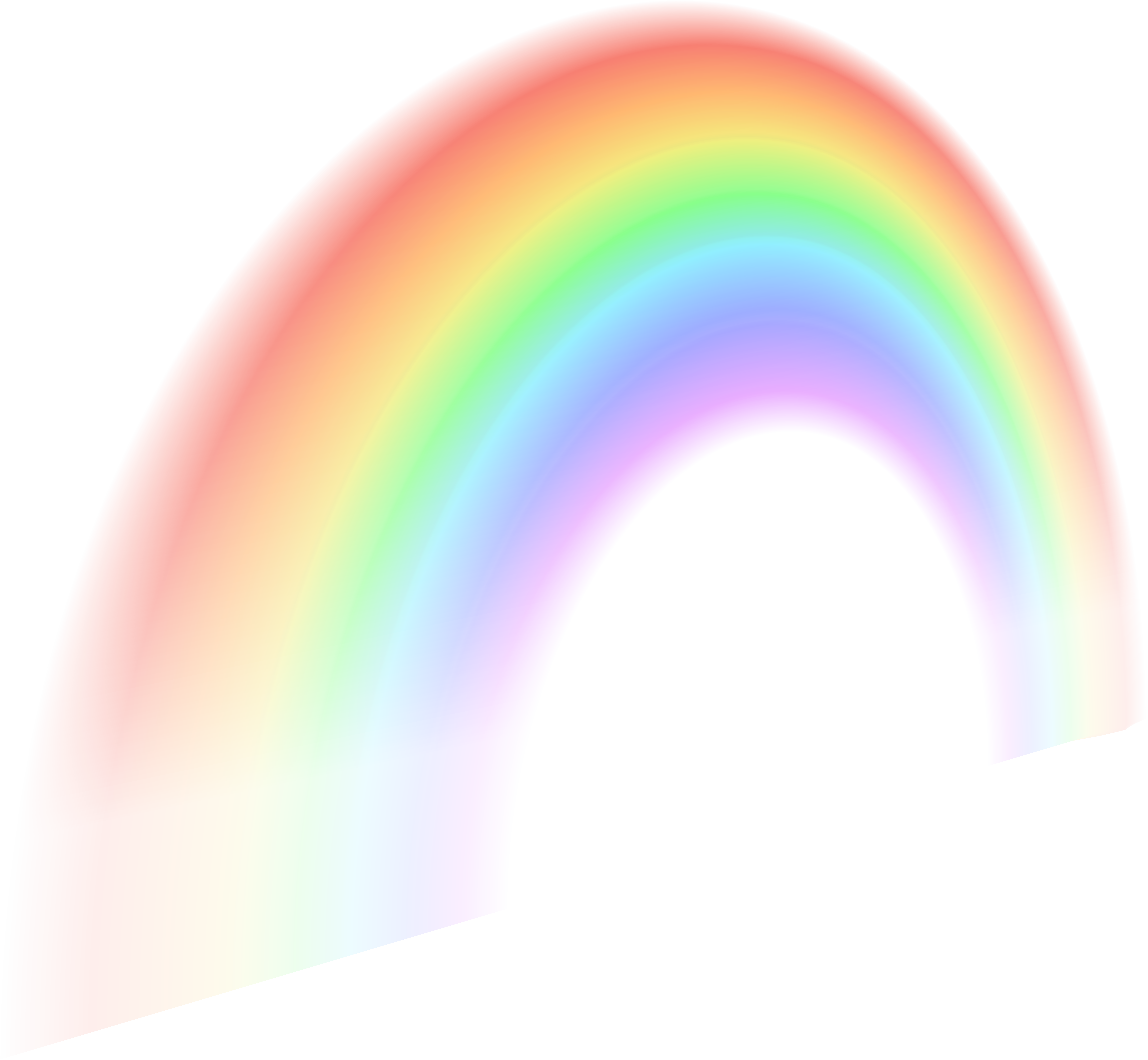 Rainbow banner png. Free clip art image