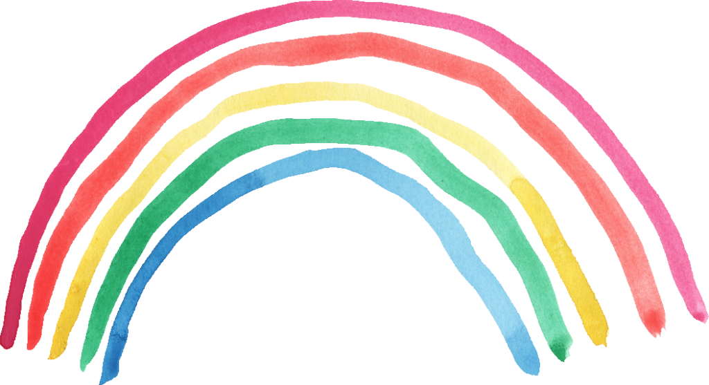 rainbow watercolor png