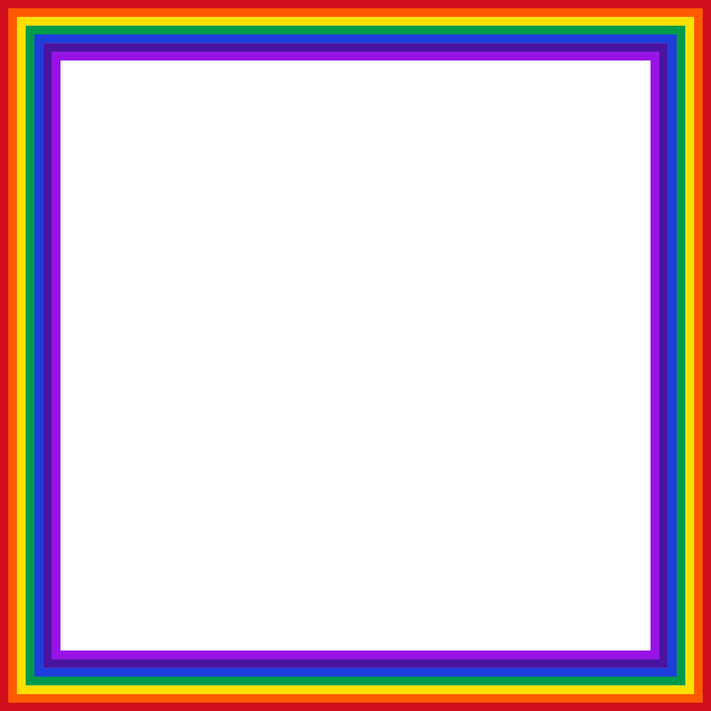 Webcam borders png. Clipart rainbow square big