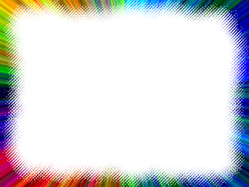 Rainbow border png. Free picture frames