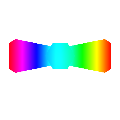rainbow bowtie png