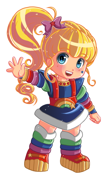 Rainbow brite png. Commission by hadibou on
