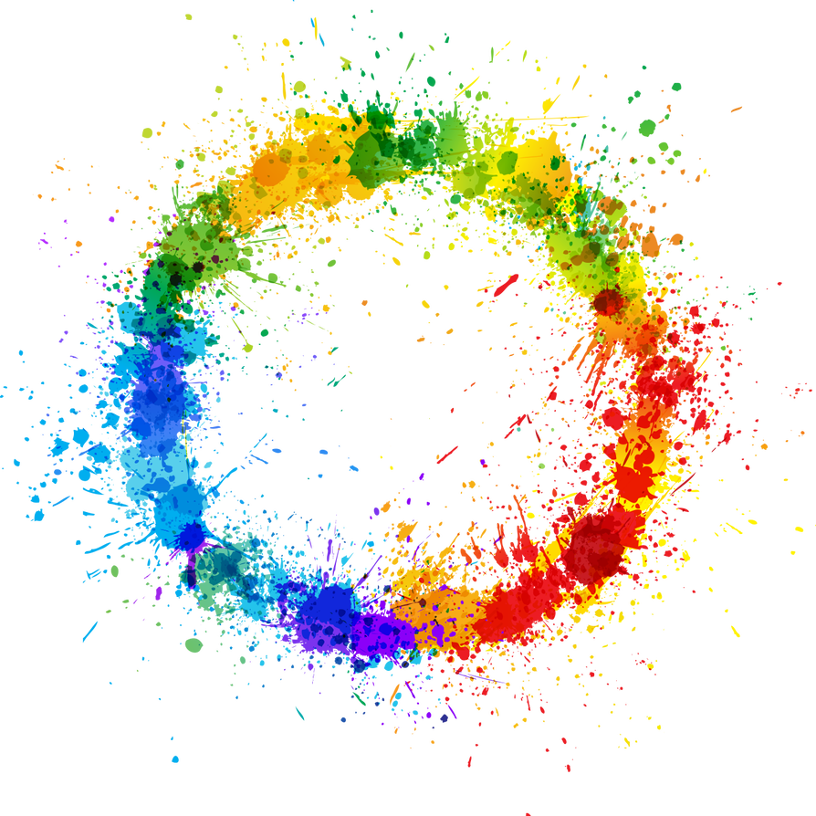 Rainbow circle png. By swatch on deviantart