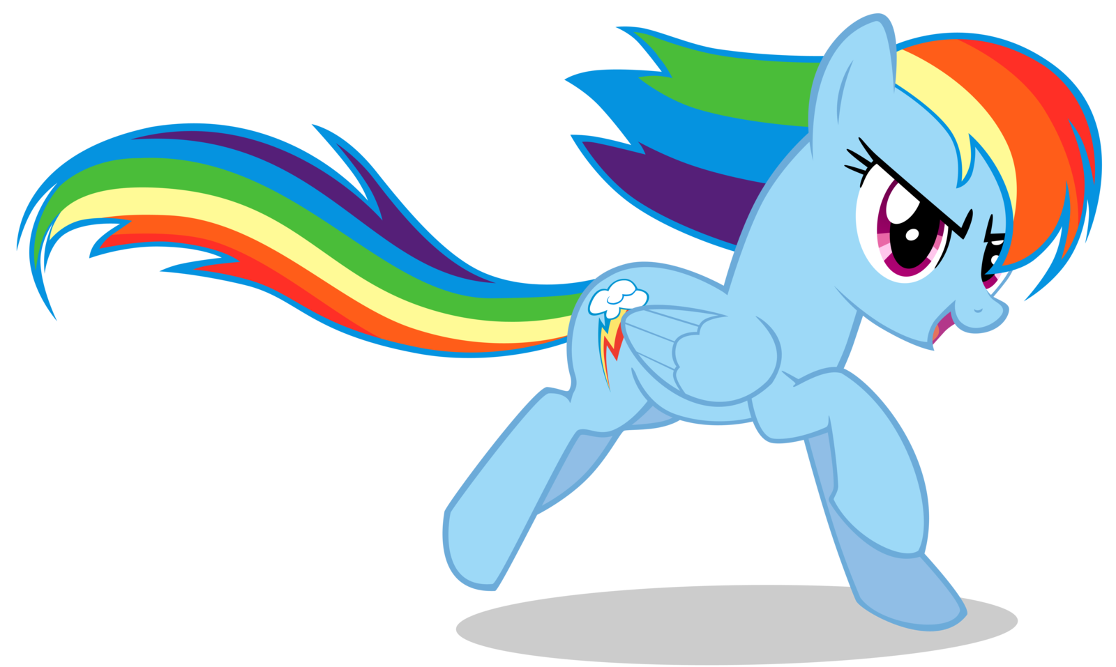 Rainbow clip my little pony. Dash infinite loops wiki