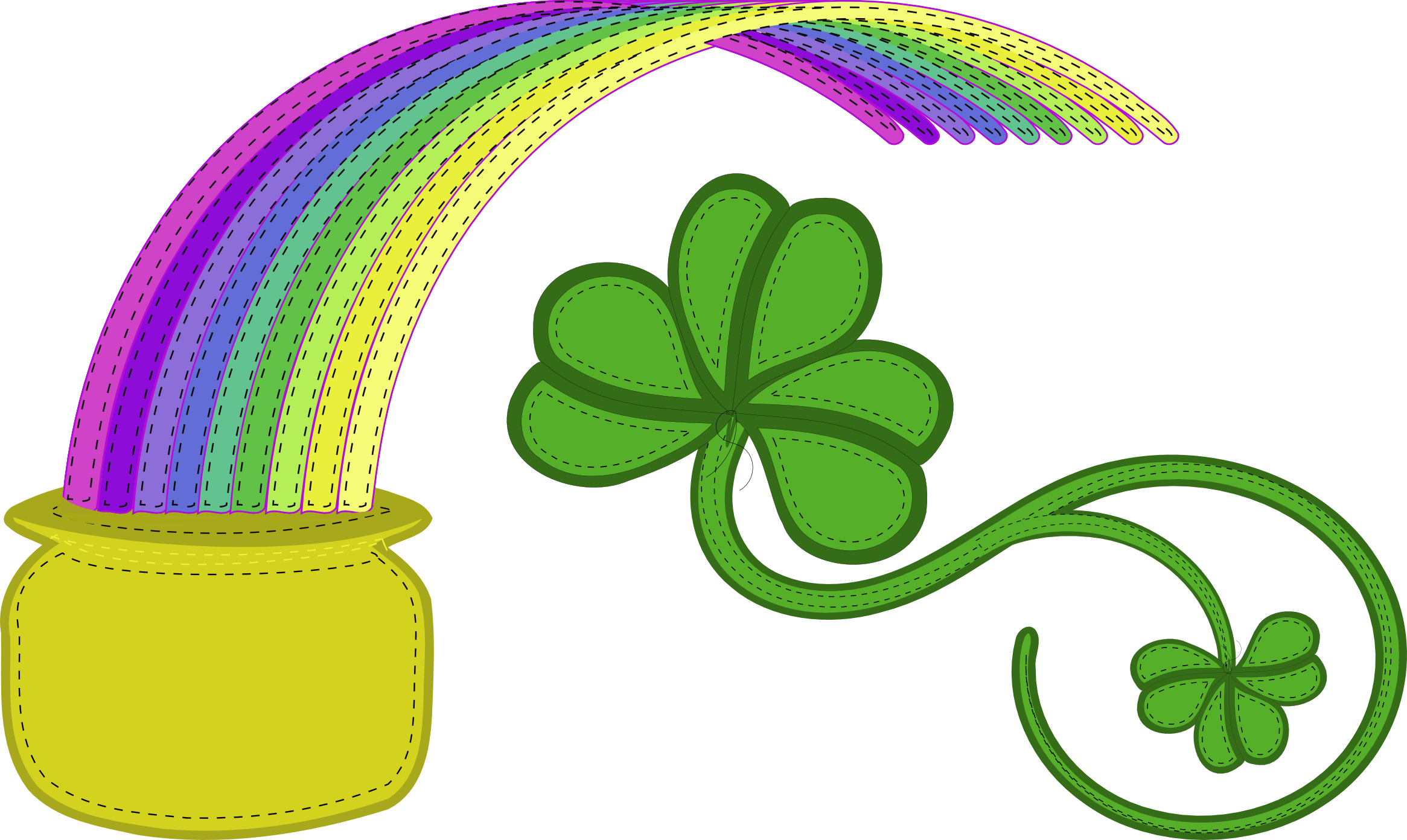 Rainbow clip st patricks day. Patty s clipart eye