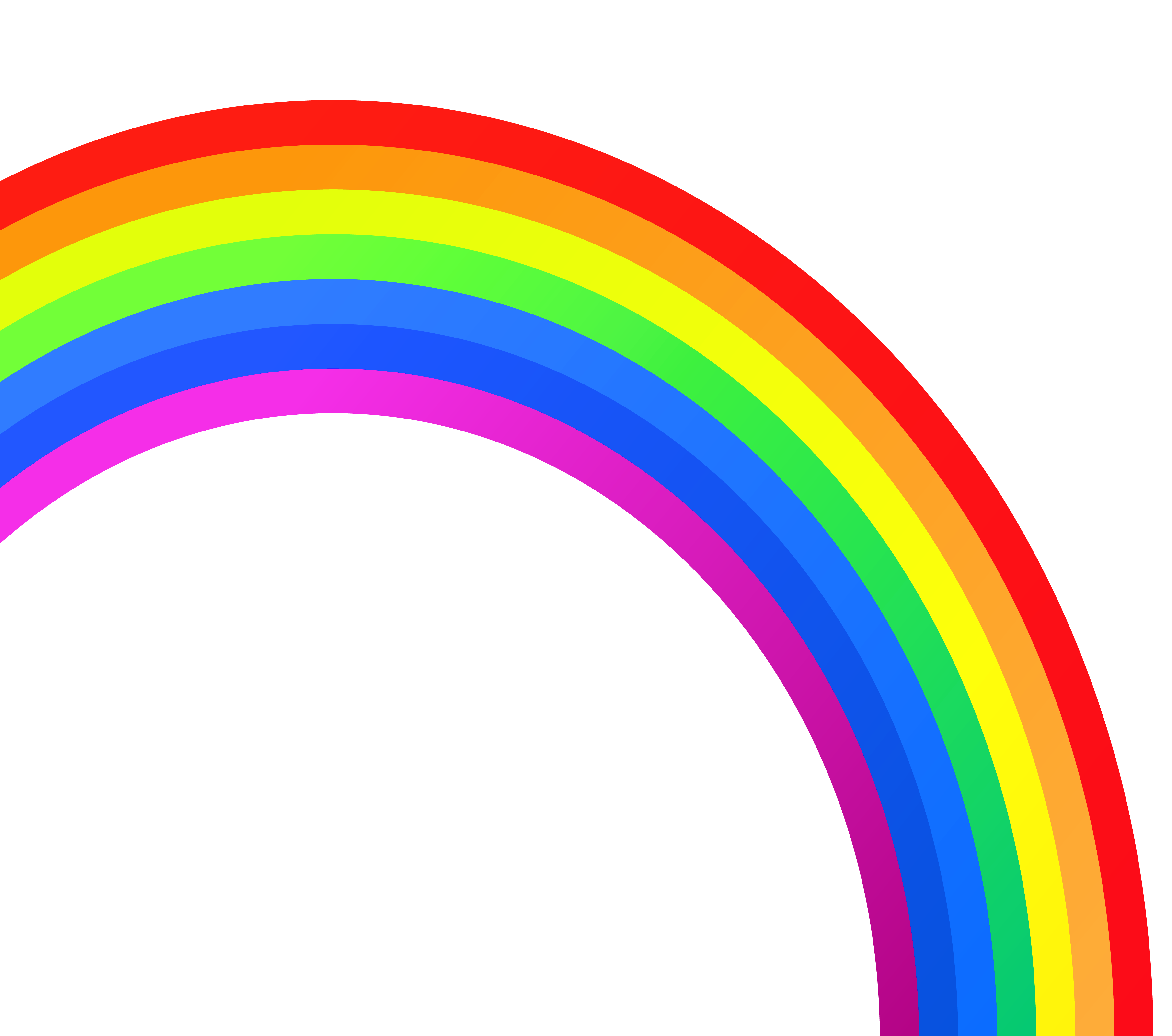 Rainbow clip transparent background. Image library huge