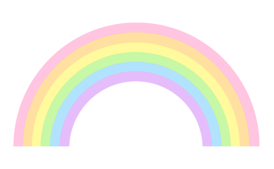 Rainbow clipart. At getdrawings com free