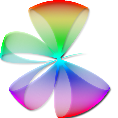 Rainbow clipart bow. Viewing heart s profile