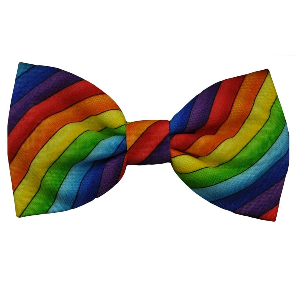 Rainbow clipart bow. Novelty ties costume blog