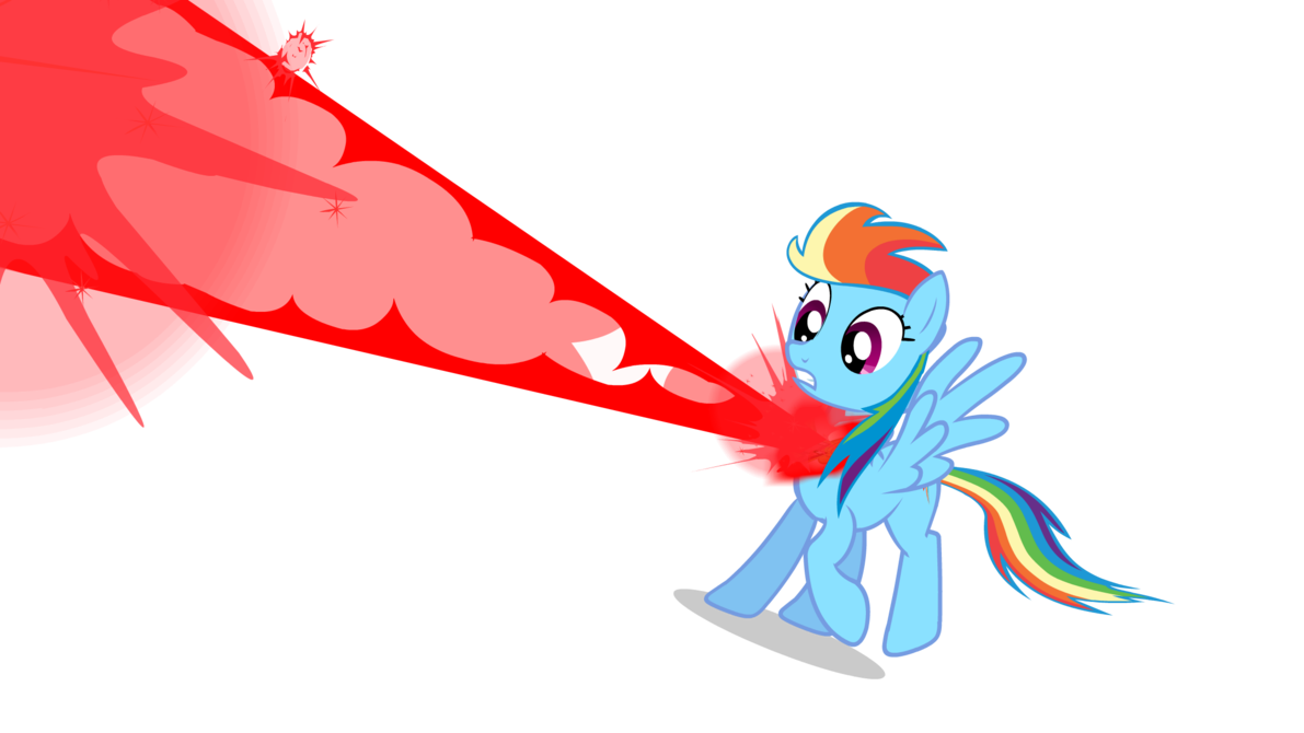 Rainbow clipart explosion. Element animation test by