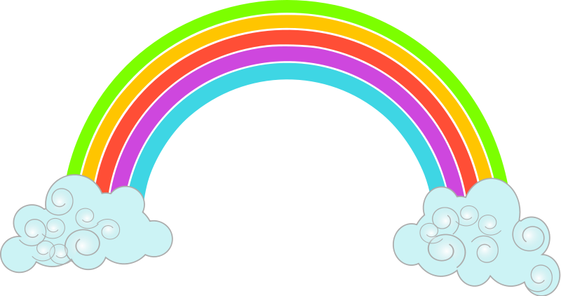 Rainbow clipart guitar. Free cloud download clip