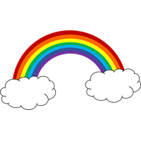 Rainbow clipart guitar. Download category png and