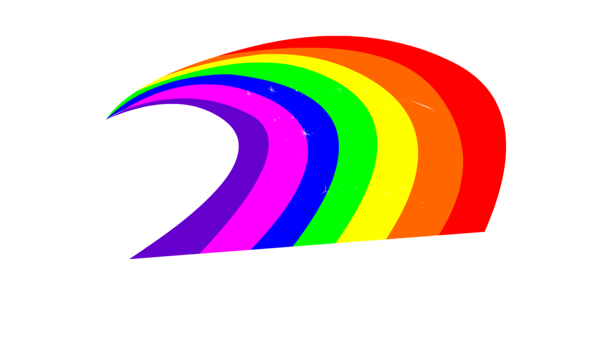 Rainbow clipart lightning. Oops by bliss on