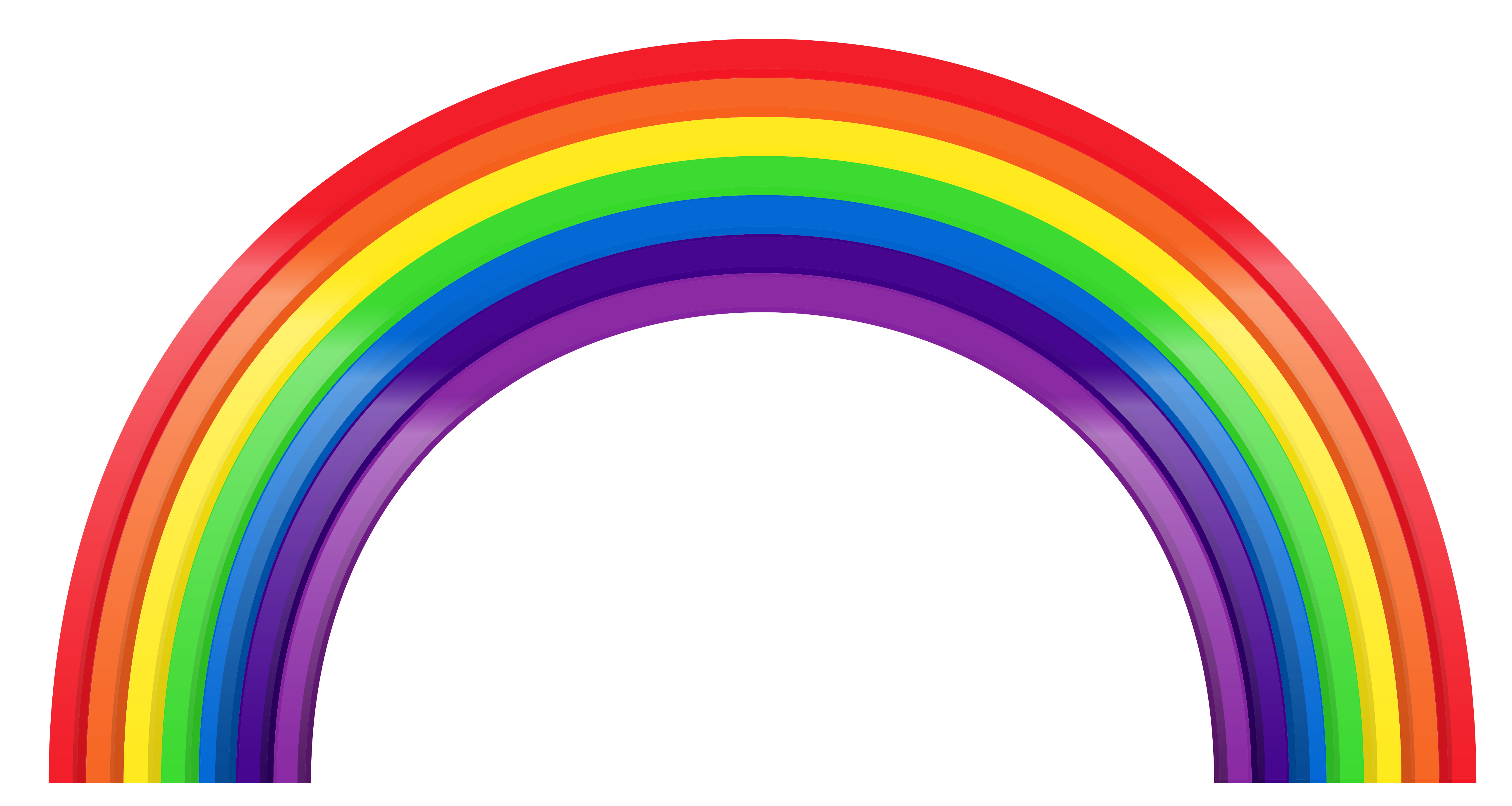 Rainbow clipart png. Large transparent gallery yopriceville